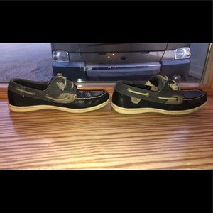 Sperry Top Sider black shoes